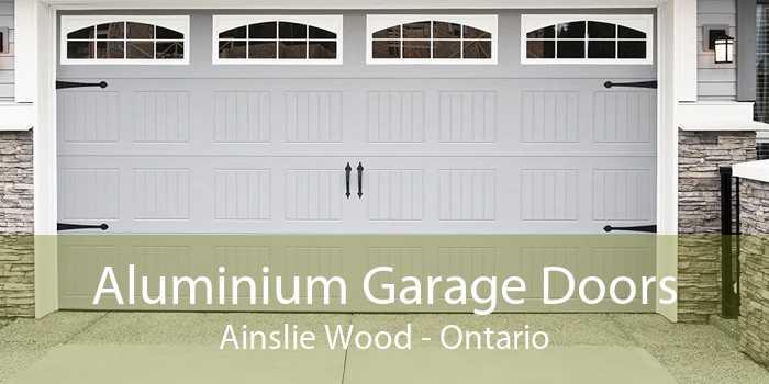 Aluminium Garage Doors Ainslie Wood - Ontario