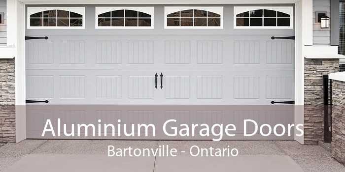 Aluminium Garage Doors Bartonville - Ontario