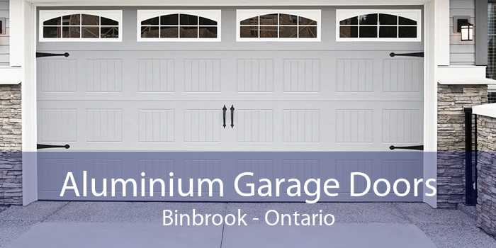 Aluminium Garage Doors Binbrook - Ontario