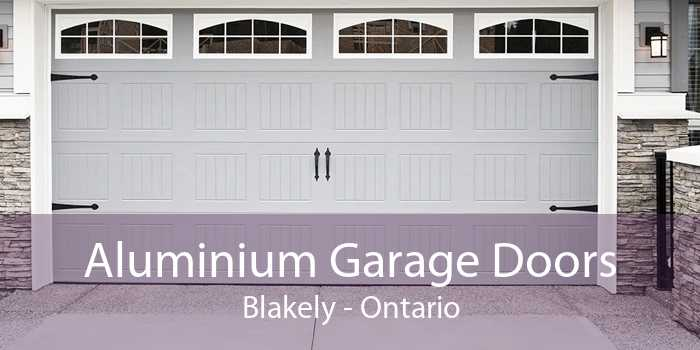 Aluminium Garage Doors Blakely - Ontario