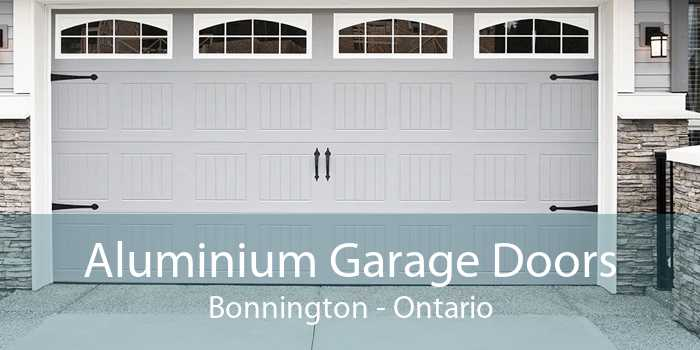 Aluminium Garage Doors Bonnington - Ontario