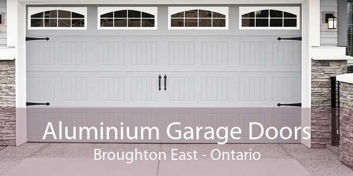 Aluminium Garage Doors Broughton East - Ontario