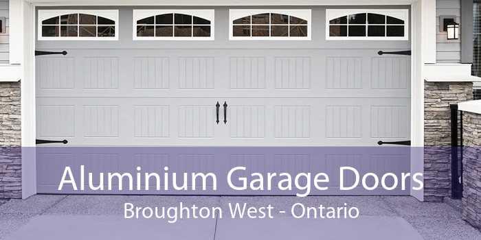 Aluminium Garage Doors Broughton West - Ontario