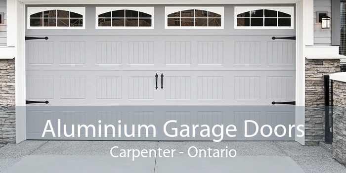 Aluminium Garage Doors Carpenter - Ontario