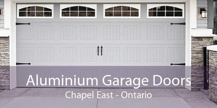Aluminium Garage Doors Chapel East - Ontario