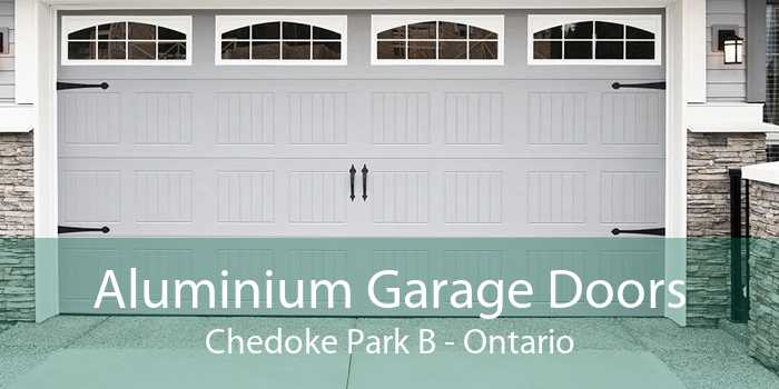 Aluminium Garage Doors Chedoke Park B - Ontario