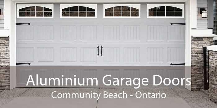 Aluminium Garage Doors Community Beach - Ontario