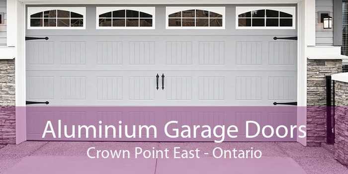 Aluminium Garage Doors Crown Point East - Ontario