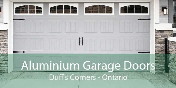 Aluminium Garage Doors Duff's Corners - Ontario
