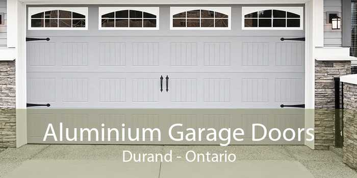 Aluminium Garage Doors Durand - Ontario