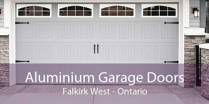 Aluminium Garage Doors Falkirk West - Ontario