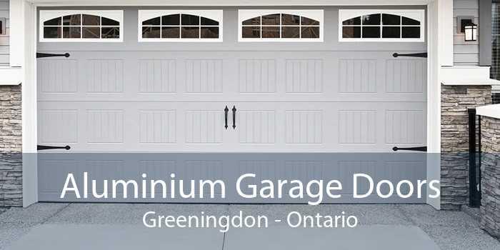 Aluminium Garage Doors Greeningdon - Ontario