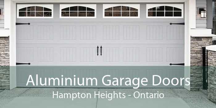 Aluminium Garage Doors Hampton Heights - Ontario
