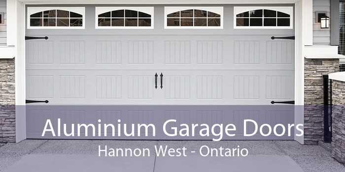 Aluminium Garage Doors Hannon West - Ontario