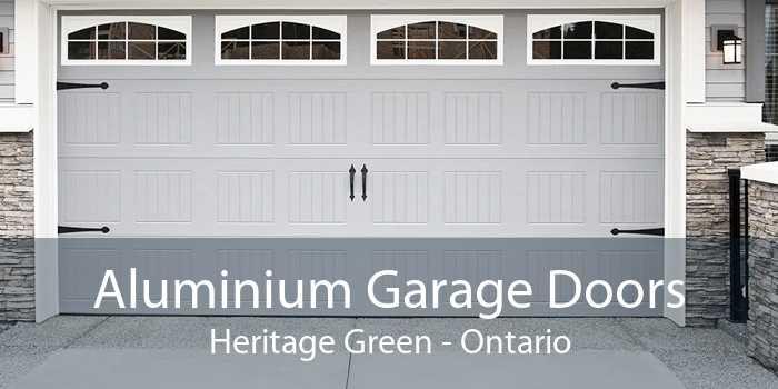 Aluminium Garage Doors Heritage Green - Ontario