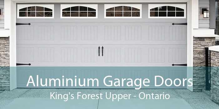 Aluminium Garage Doors King's Forest Upper - Ontario