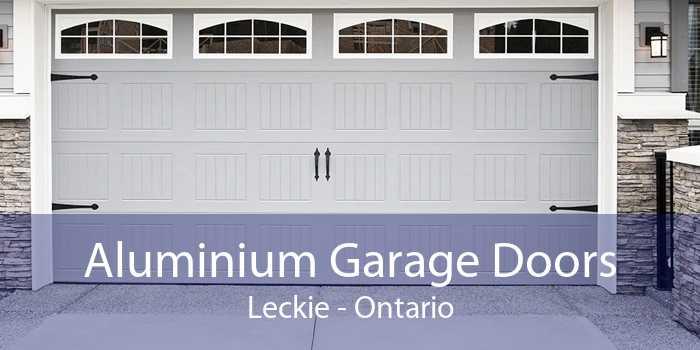 Aluminium Garage Doors Leckie - Ontario
