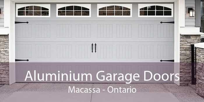 Aluminium Garage Doors Macassa - Ontario