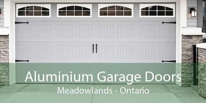 Aluminium Garage Doors Meadowlands - Ontario