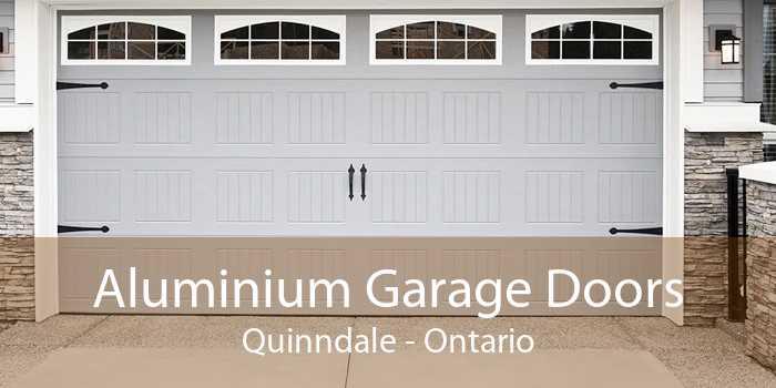 Aluminium Garage Doors Quinndale - Ontario