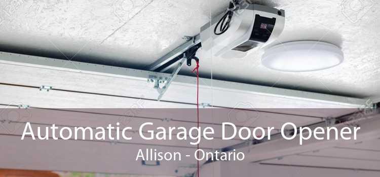 Automatic Garage Door Opener Allison - Ontario