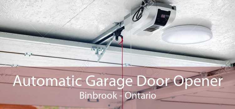 Automatic Garage Door Opener Binbrook - Ontario