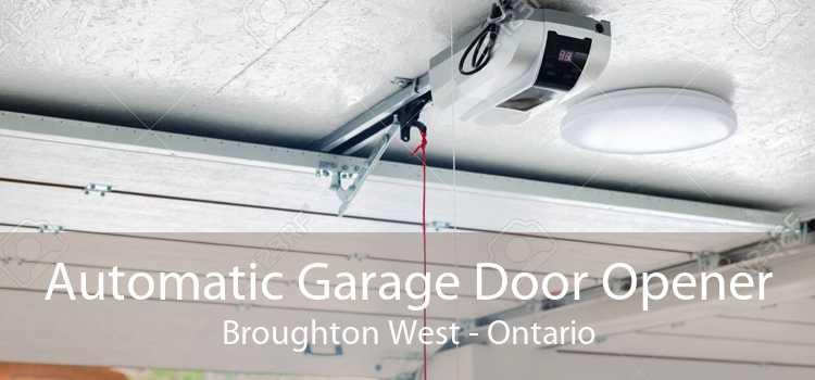 Automatic Garage Door Opener Broughton West - Ontario