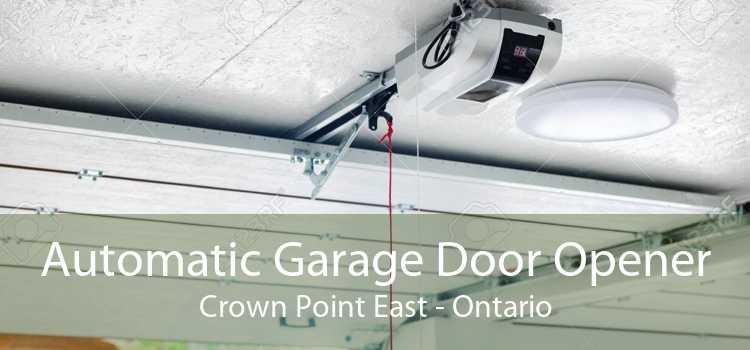 Automatic Garage Door Opener Crown Point East - Ontario