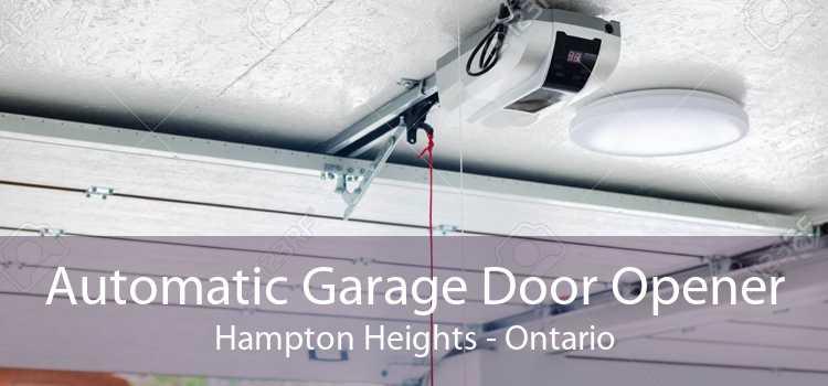 Automatic Garage Door Opener Hampton Heights - Ontario