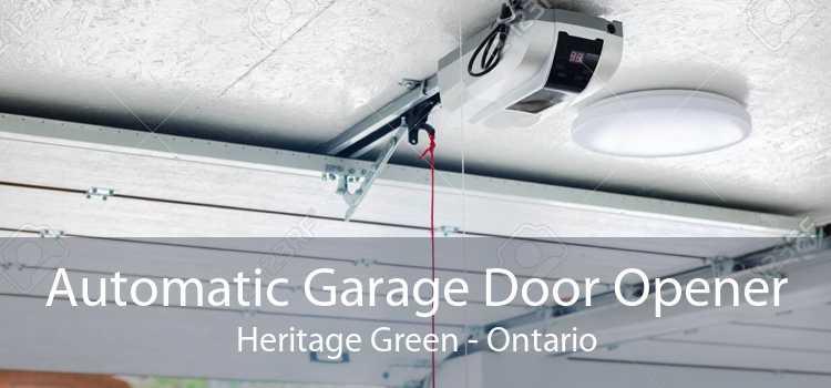 Automatic Garage Door Opener Heritage Green - Ontario