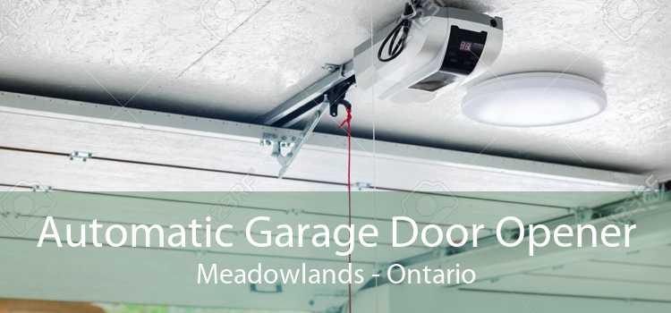 Automatic Garage Door Opener Meadowlands - Ontario