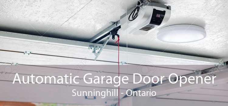 Automatic Garage Door Opener Sunninghill - Ontario