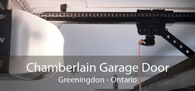 Chamberlain Garage Door Greeningdon - Ontario