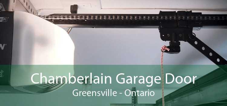 Chamberlain Garage Door Greensville - Ontario