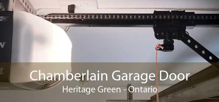 Chamberlain Garage Door Heritage Green - Ontario