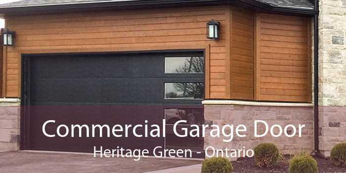 Commercial Garage Door Heritage Green - Ontario