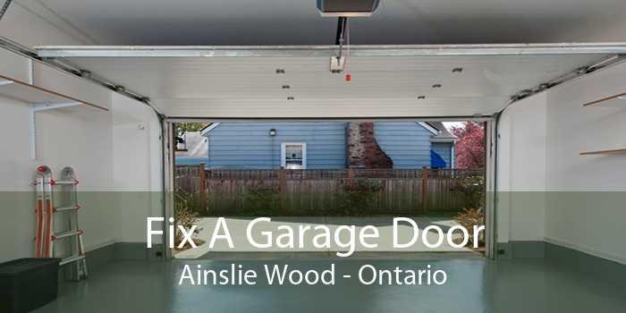 Fix A Garage Door Ainslie Wood - Ontario