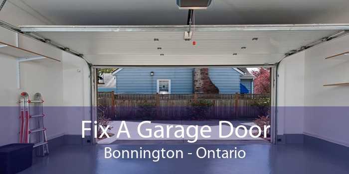 Fix A Garage Door Bonnington - Ontario