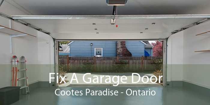 Fix A Garage Door Cootes Paradise - Ontario
