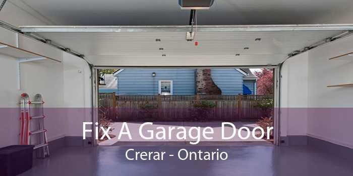 Fix A Garage Door Crerar - Ontario