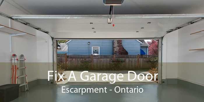Fix A Garage Door Escarpment - Ontario