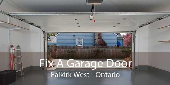 Fix A Garage Door Falkirk West - Ontario