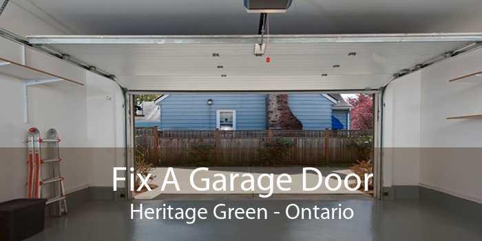 Fix A Garage Door Heritage Green - Ontario