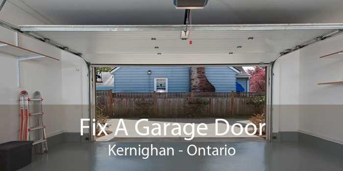 Fix A Garage Door Kernighan - Ontario