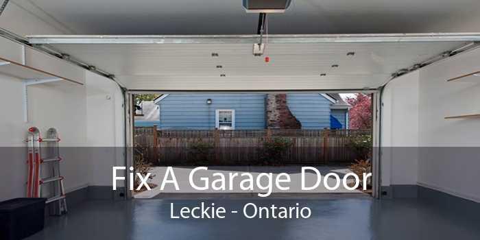 Fix A Garage Door Leckie - Ontario
