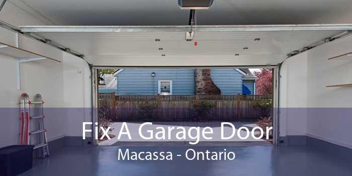 Fix A Garage Door Macassa - Ontario