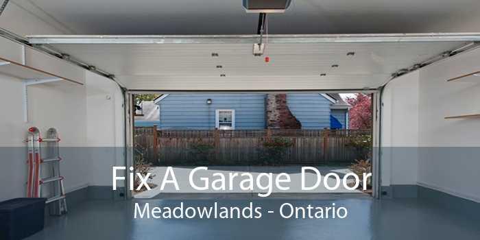 Fix A Garage Door Meadowlands - Ontario