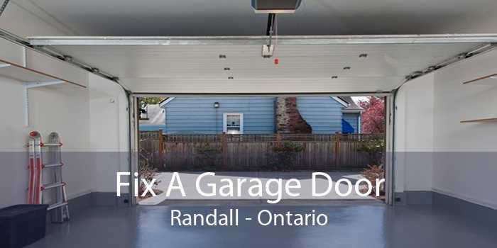 Fix A Garage Door Randall - Ontario