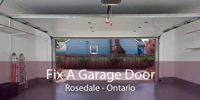 Fix A Garage Door Rosedale - Ontario