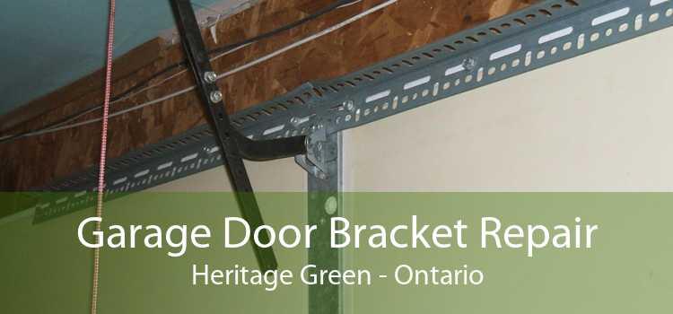 Garage Door Bracket Repair Heritage Green - Ontario